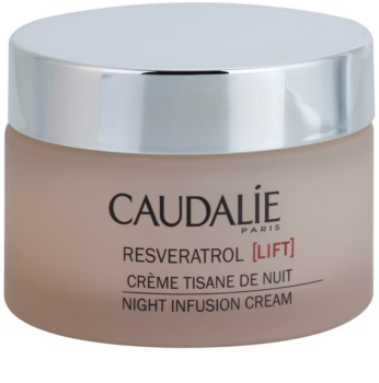 Caudalie Resveratrol [Lift] crema regeneratoare de noapte cu efect de netezire